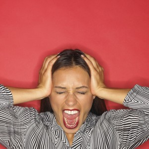 Angry, Frustrated Woman