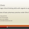 Ohio State Pharmacy Law & MPJE Preview